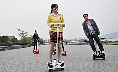 北京平衡车马路封杀令落地如何?交警坦言执法难图片